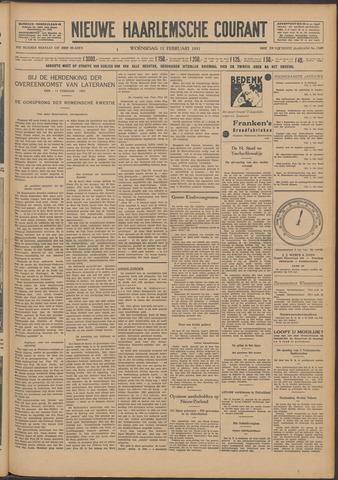 Nieuwe Haarlemsche Courant 1931-02-11