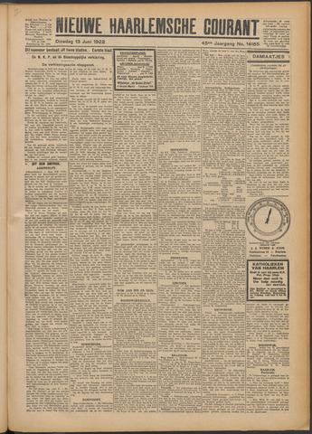 Nieuwe Haarlemsche Courant 1922-06-13
