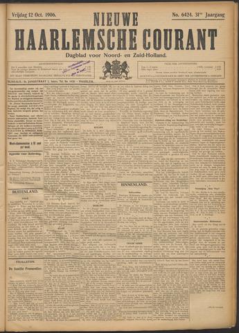 Nieuwe Haarlemsche Courant 1906-10-12