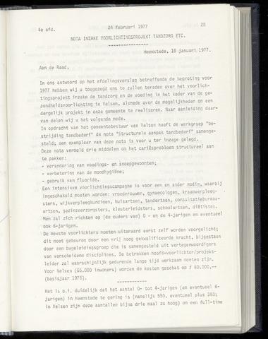 Raadsnotulen Heemstede 1977-02-24