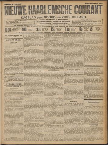 Nieuwe Haarlemsche Courant 1911-02-14