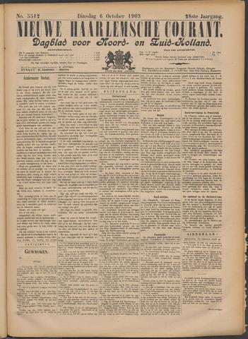 Nieuwe Haarlemsche Courant 1903-10-06