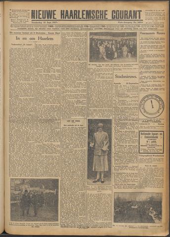 Nieuwe Haarlemsche Courant 1927-09-15