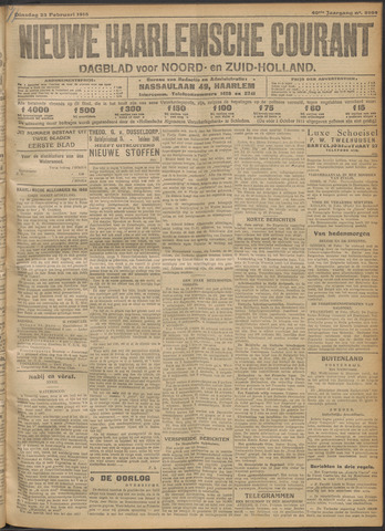 Nieuwe Haarlemsche Courant 1916-02-22
