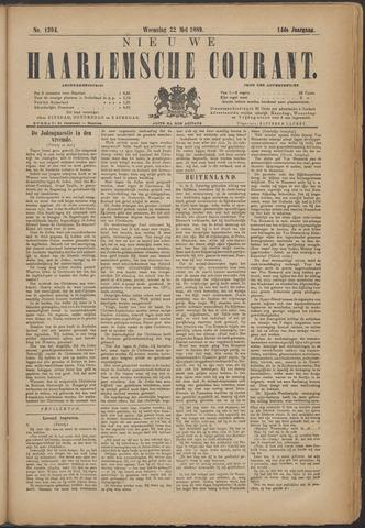 Nieuwe Haarlemsche Courant 1889-05-22