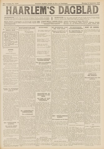 Haarlem's Dagblad 1926-09-14