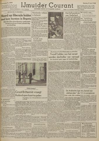 IJmuider Courant 1948-04-10