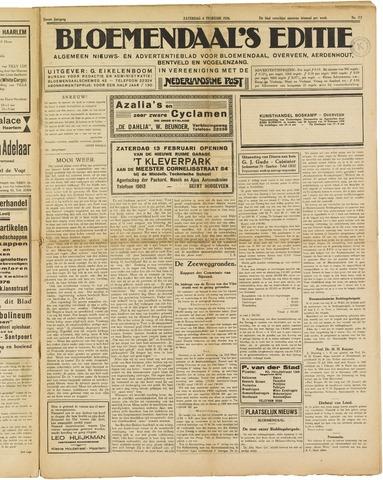 Bloemendaal's Editie 1926-02-06