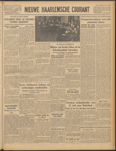 Nieuwe Haarlemsche Courant 1949-12-20