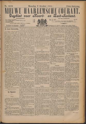 Nieuwe Haarlemsche Courant 1905-10-02