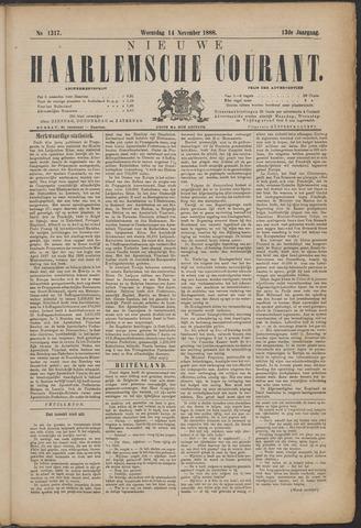Nieuwe Haarlemsche Courant 1888-11-14