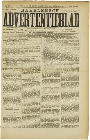 Haarlemsch Advertentieblad 1889-11-13