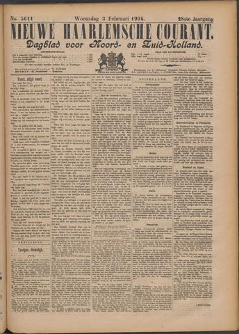 Nieuwe Haarlemsche Courant 1904-02-03
