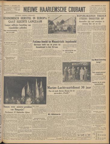 Nieuwe Haarlemsche Courant 1947-09-03