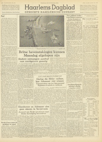 Haarlem's Dagblad 1954-10-29