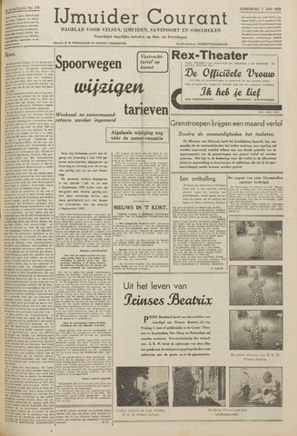 IJmuider Courant 1939-06-01