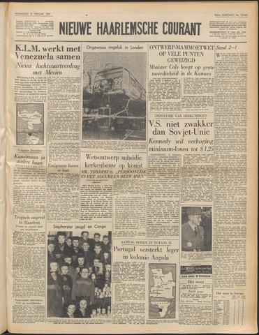 Nieuwe Haarlemsche Courant 1961-02-08