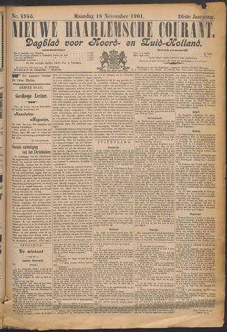 Nieuwe Haarlemsche Courant 1901-11-18