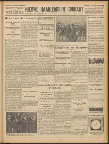 Nieuwe Haarlemsche Courant 1935-01-20