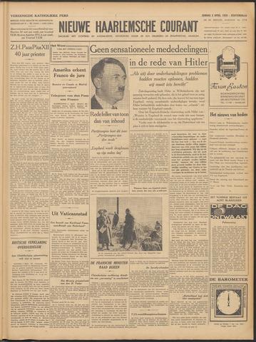 Nieuwe Haarlemsche Courant 1939-04-02