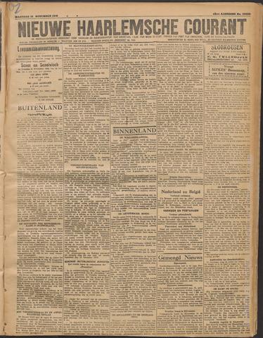 Nieuwe Haarlemsche Courant 1919-11-10