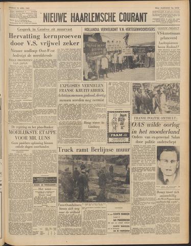 Nieuwe Haarlemsche Courant 1962-04-10