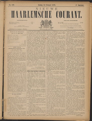 Nieuwe Haarlemsche Courant 1879-02-16