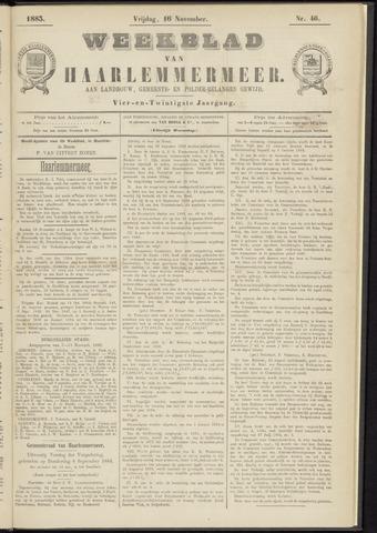 Weekblad van Haarlemmermeer 1883-11-16