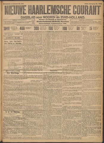Nieuwe Haarlemsche Courant 1914-08-03