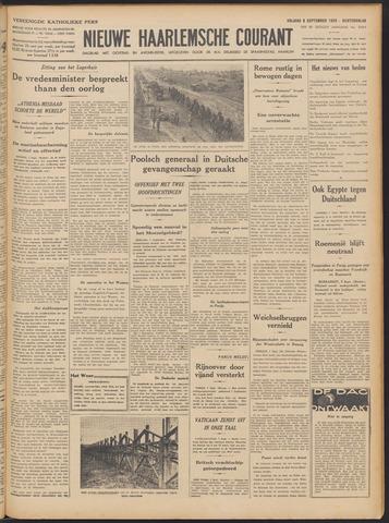 Nieuwe Haarlemsche Courant 1939-09-08