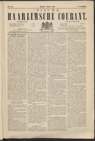 Nieuwe Haarlemsche Courant 1884-03-02