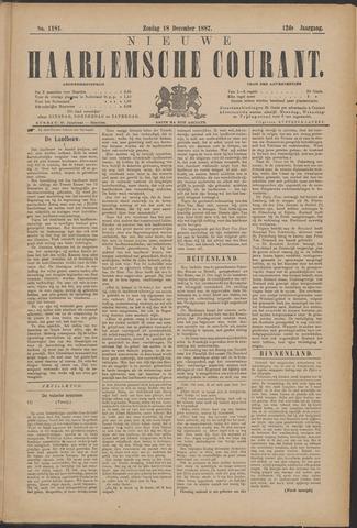 Nieuwe Haarlemsche Courant 1887-12-18