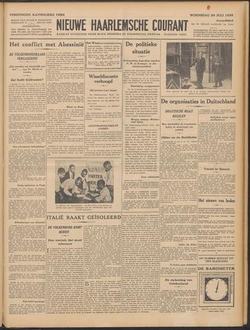 Nieuwe Haarlemsche Courant 1935-07-24