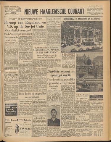 Nieuwe Haarlemsche Courant 1961-09-04