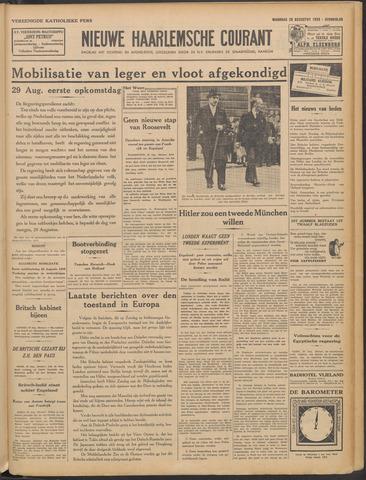 Nieuwe Haarlemsche Courant 1939-08-28
