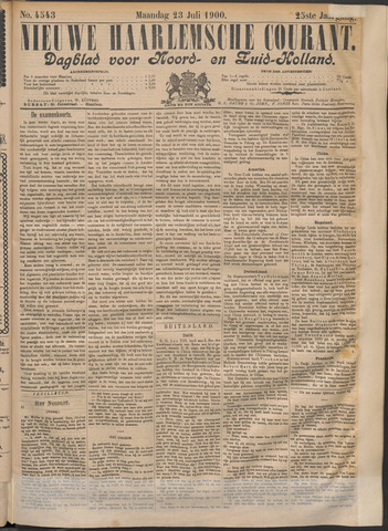 Nieuwe Haarlemsche Courant 1900-07-23
