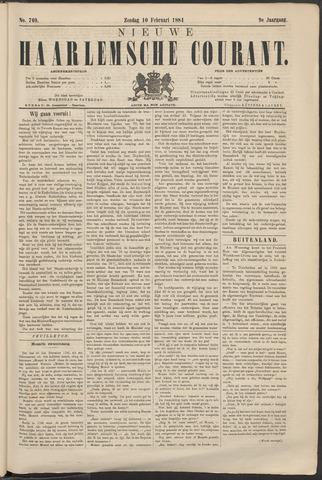 Nieuwe Haarlemsche Courant 1884-02-10