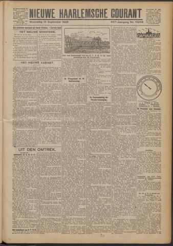 Nieuwe Haarlemsche Courant 1922-09-13