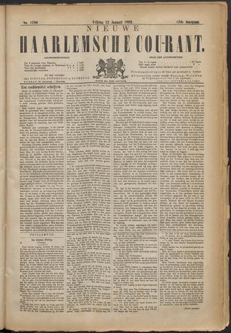 Nieuwe Haarlemsche Courant 1892-01-22