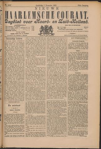 Nieuwe Haarlemsche Courant 1901-11-07
