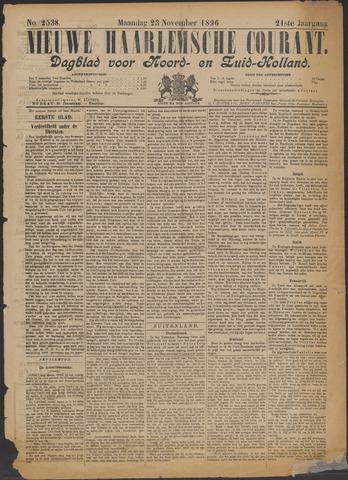 Nieuwe Haarlemsche Courant 1896-11-23