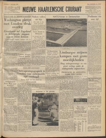Nieuwe Haarlemsche Courant 1957-09-07