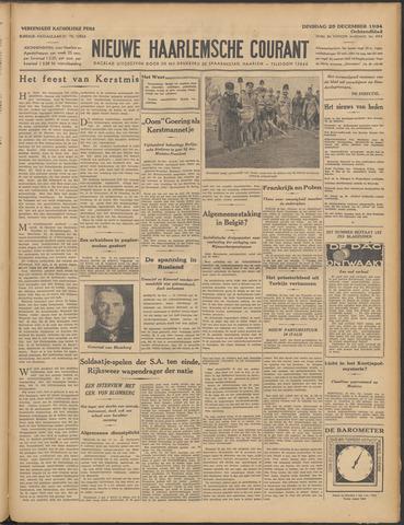 Nieuwe Haarlemsche Courant 1934-12-25