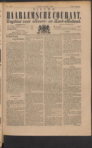 Nieuwe Haarlemsche Courant 1899-10-24