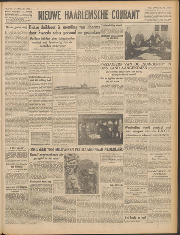 Nieuwe Haarlemsche Courant 1950-01-13