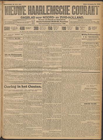 Nieuwe Haarlemsche Courant 1914-07-30