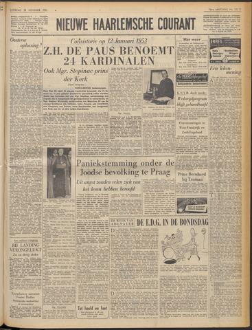 Nieuwe Haarlemsche Courant 1952-11-29