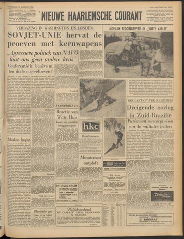 Nieuwe Haarlemsche Courant 1961-08-31