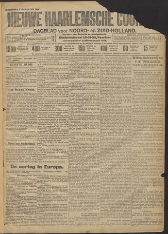 Nieuwe Haarlemsche Courant 1914-08-05