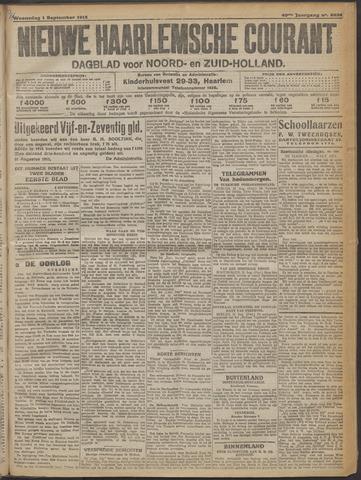 Nieuwe Haarlemsche Courant 1915-09-01